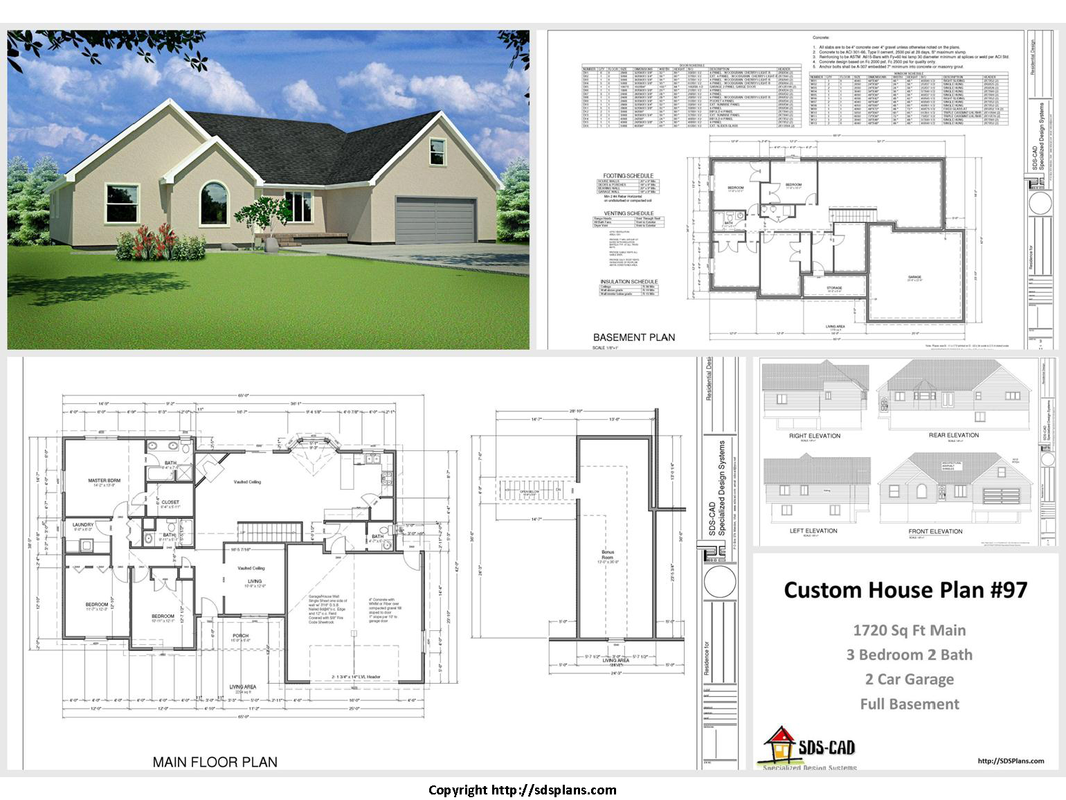100 house plans catalog page 006 9 plans for House plan catalogs free