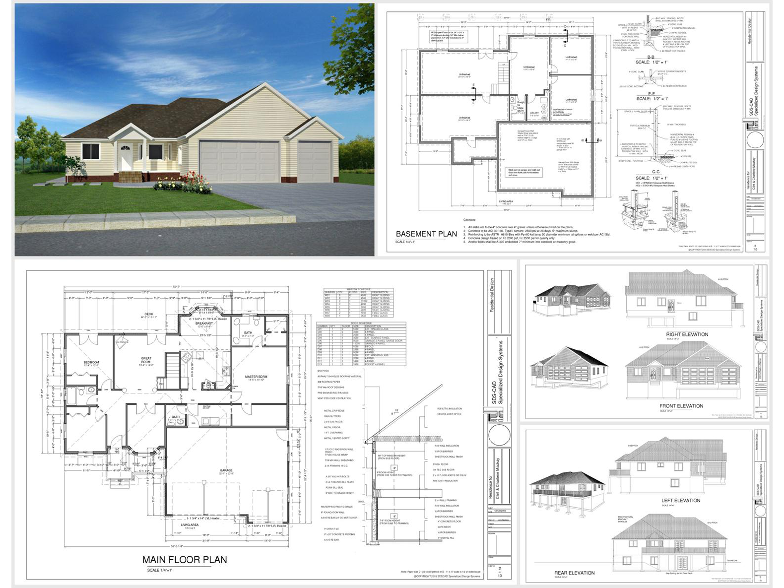 100 house plans catalog page 009 9 plans for House plan catalogs free