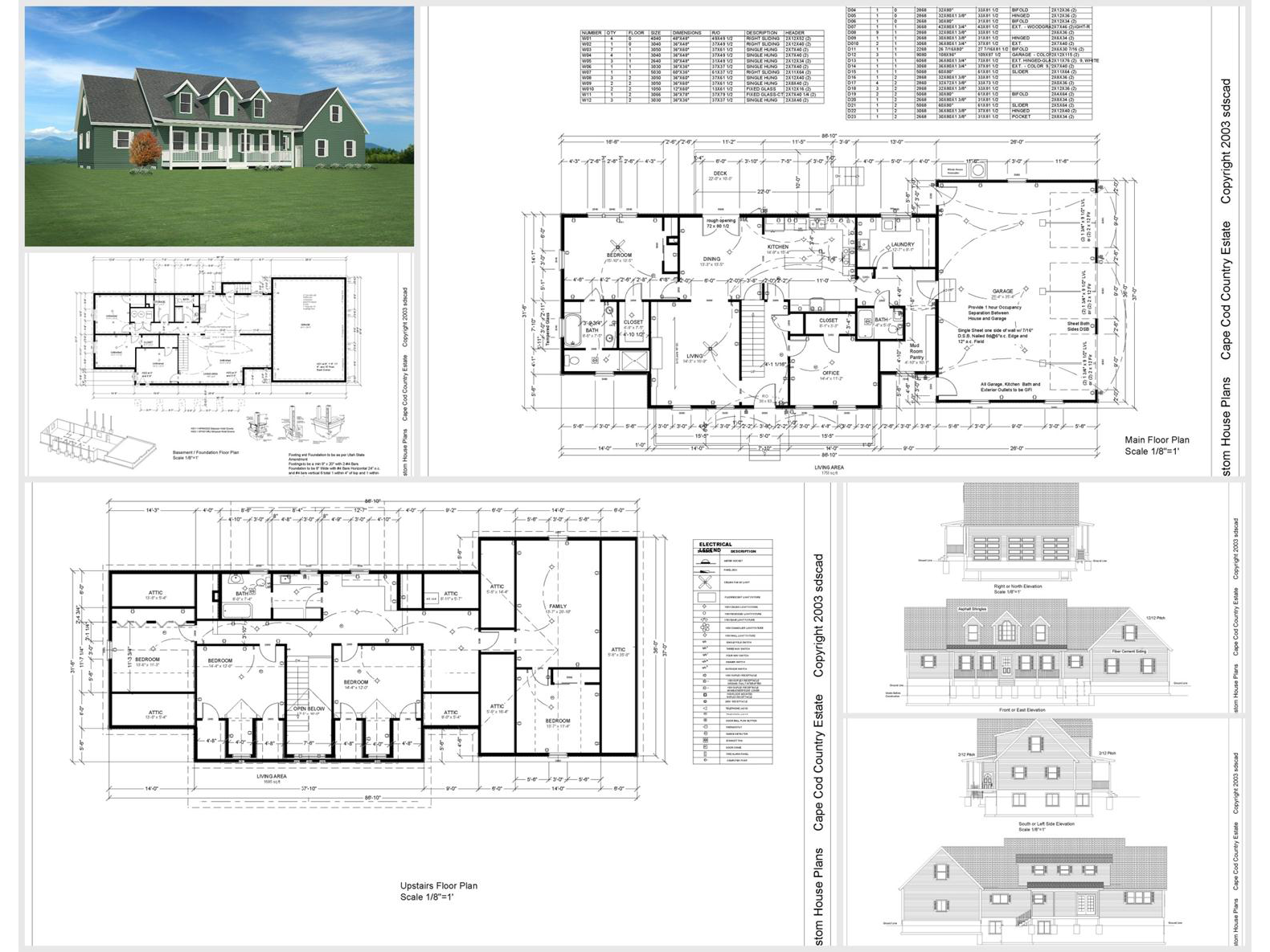 100 house plans catalog page 011 9 plans for House plan catalogs free