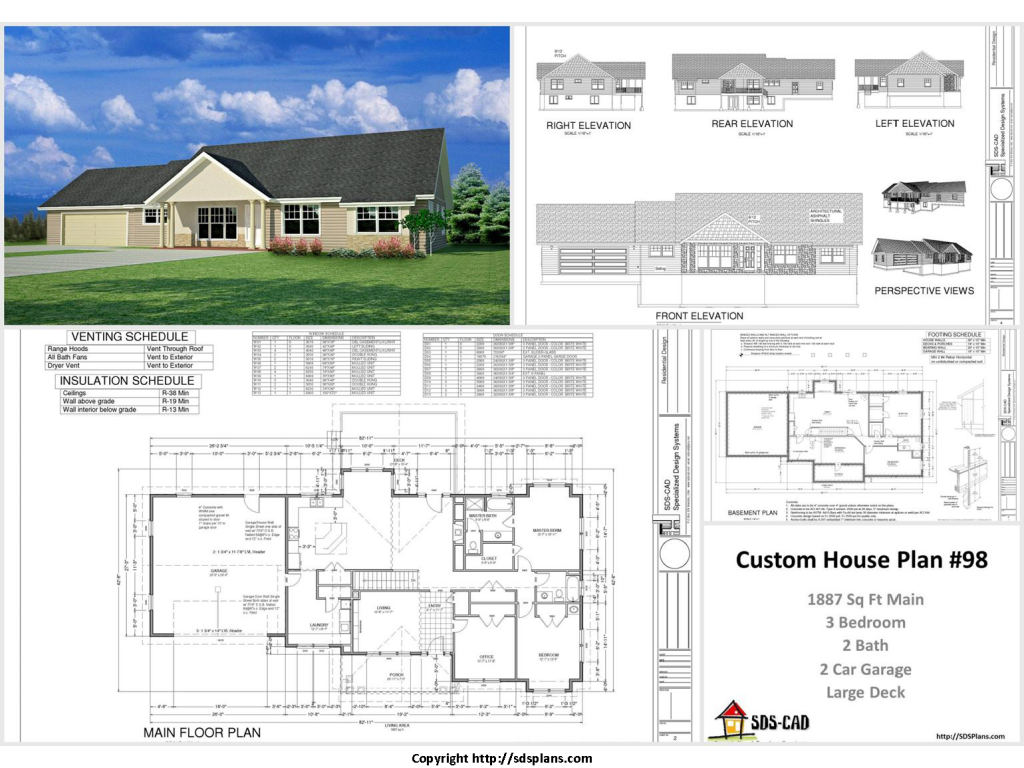 100 house plans catalog page 012 9 plans for Catalog houses