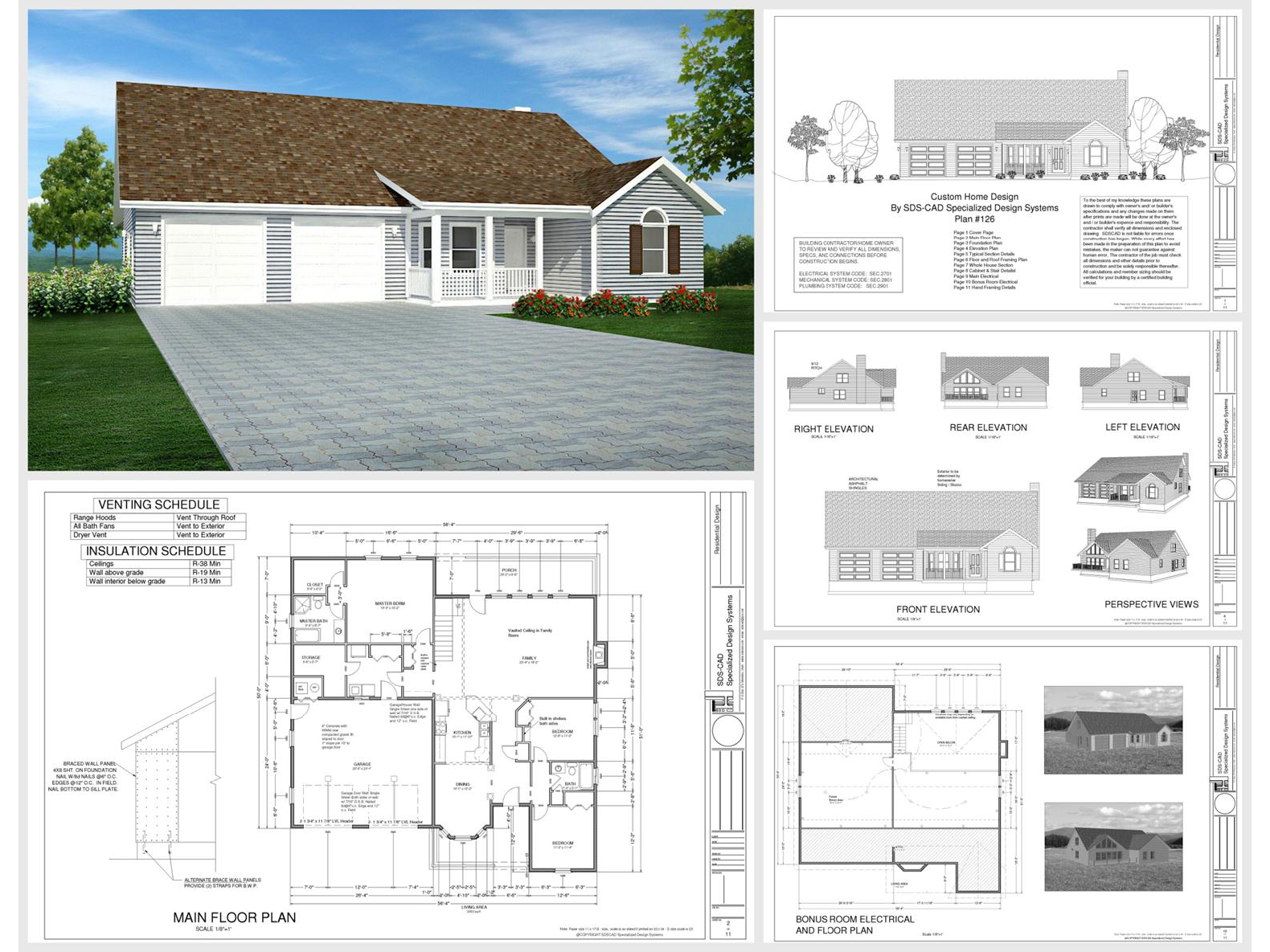 100 house plans catalog page 030 9 plans for House plan catalogs free