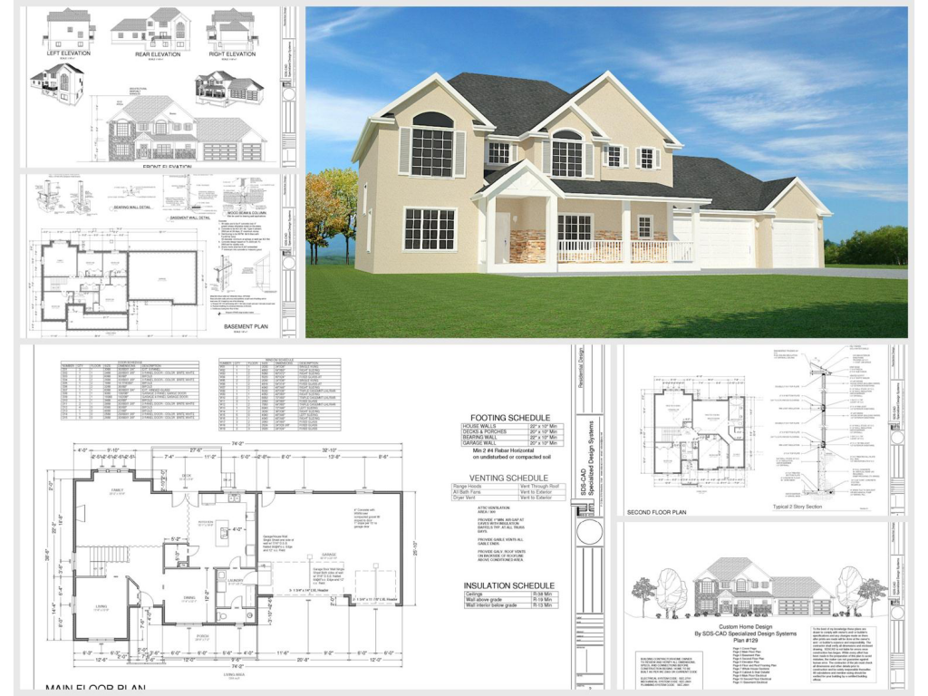 100 house plans catalog page 031 9 plans ForHouse Design Pdf