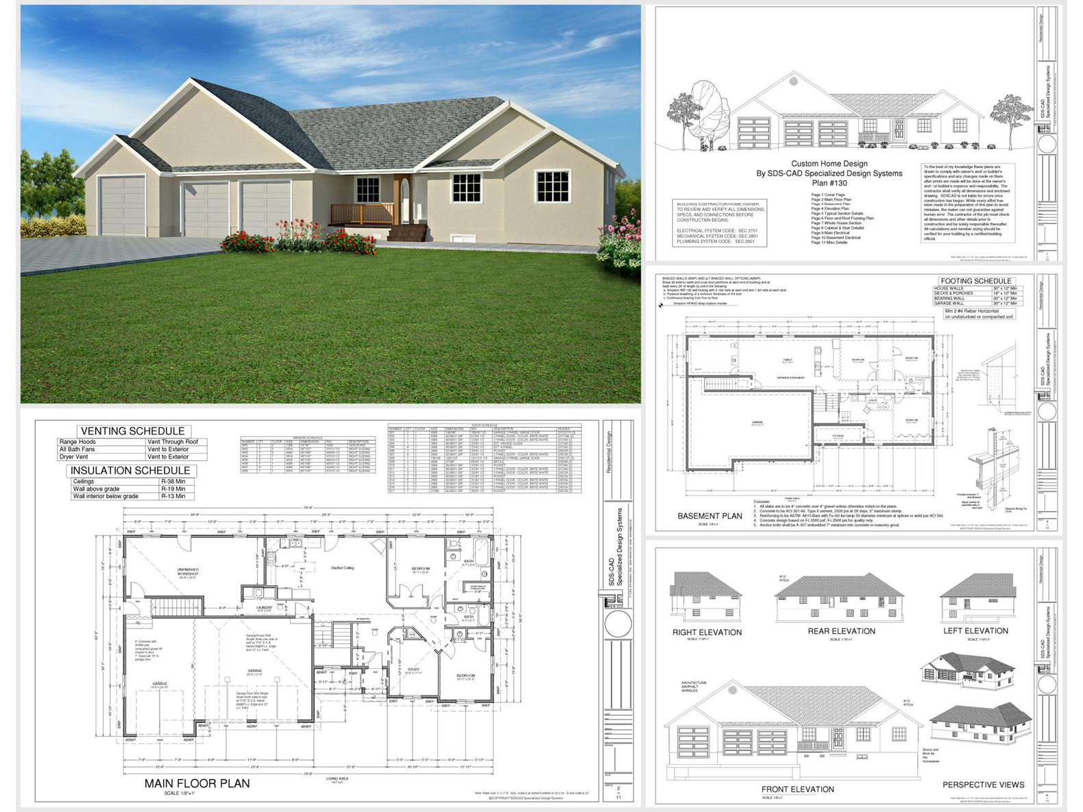 100 house plans catalog page 032 9 plans for House design pdf