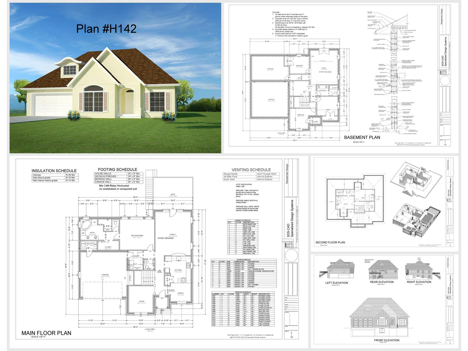 100 house plans catalog page 041 9 plans for House plan catalogs free